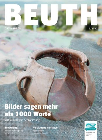 Cover BEUTH. Das Magazin 1/2020
