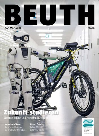 Cover BEUTH. Das Magazin 1/2018