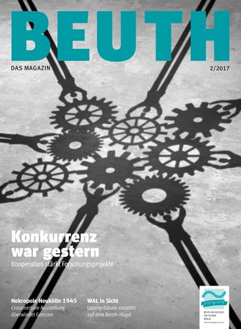 Cover BEUTH. Magazin 2/2017