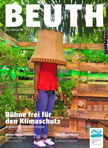 Cover BEUTH. Das Magazin 2/2019